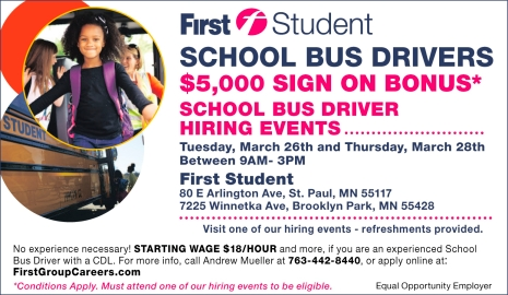school bus driver license mn